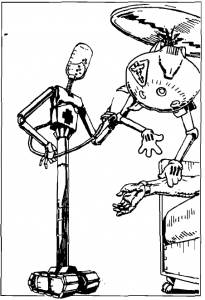 Interventional medical bot.