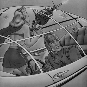 Startling Comics #51 1948. Illustrator may be Alex Schumberg
